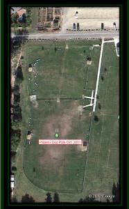 Phoenix Dog Park Aerial View