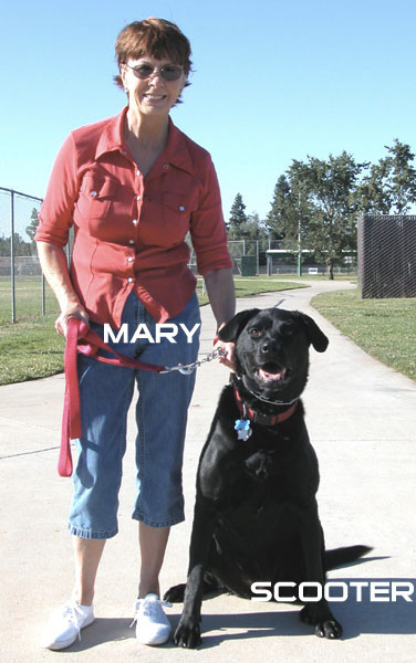 Mary And Scooter